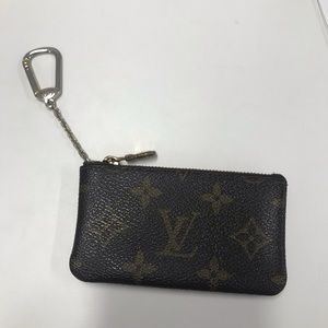 Louis Vuitton Key Pouch Cles Monogram